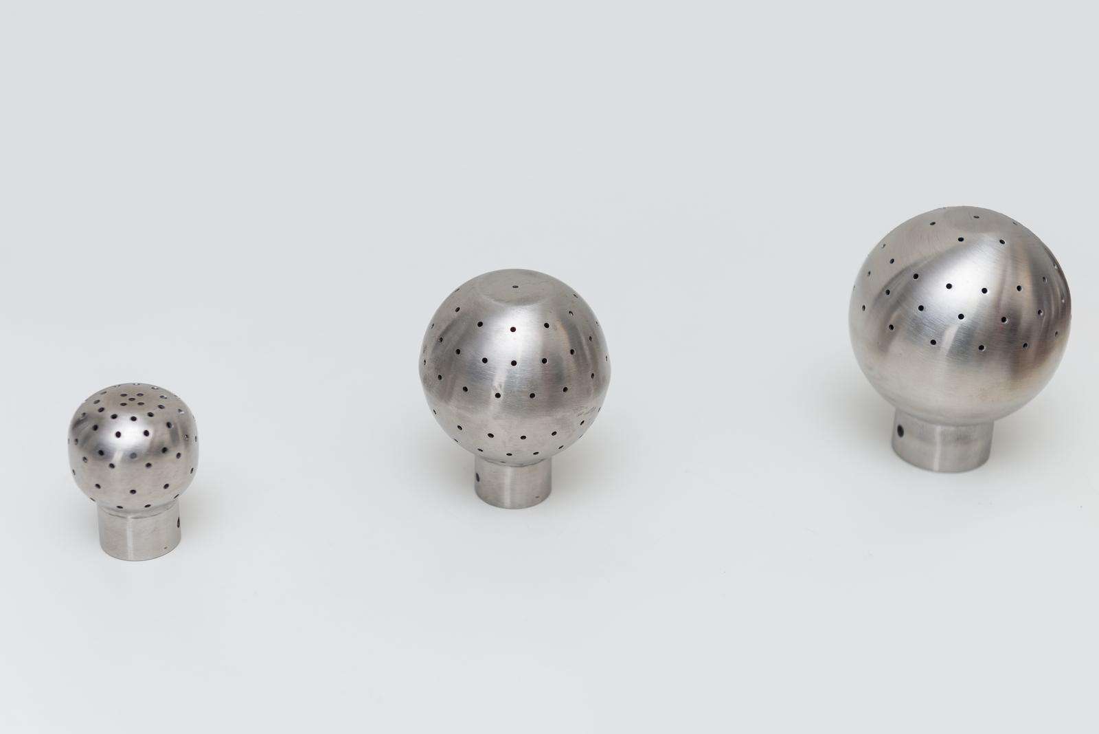Bochas de higienización de acero inoxidable