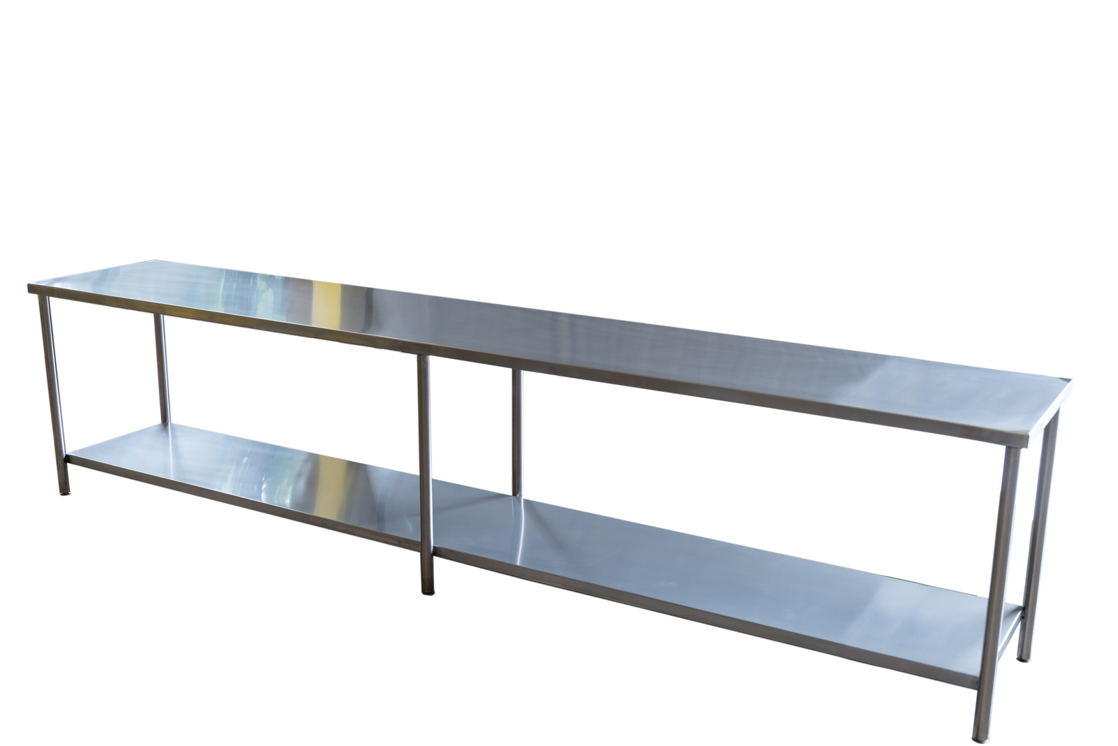 Mesa elaboración de acero inoxidable