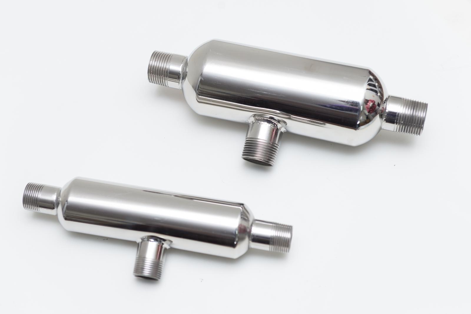 Mezcladores agua vapor de acero inoxidable