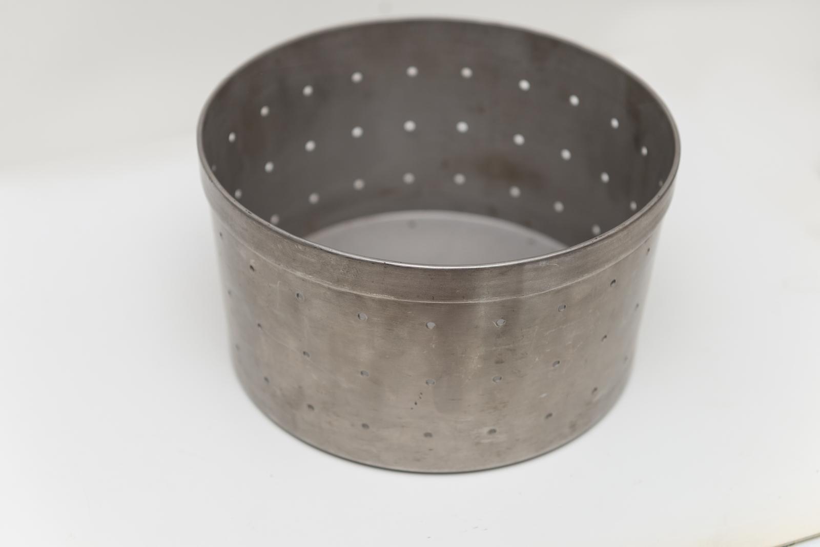 Molde para queso de acero inoxidable